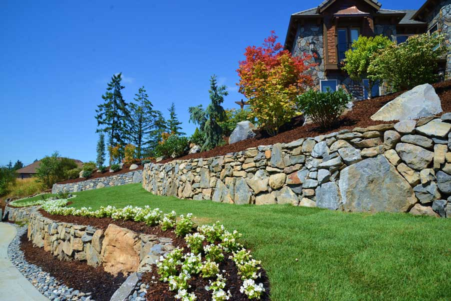 Portland, Oregon Landscape Installation